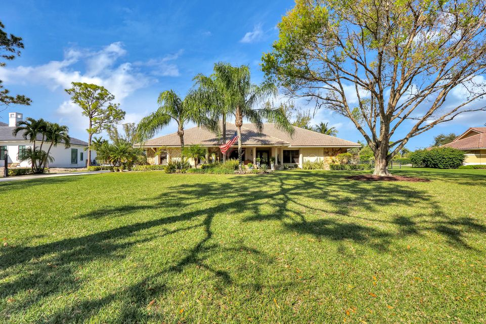 Single Family Home for Sale at 5576 N High Flyer Road 5576 N High Flyer Road Palm Beach Gardens, Florida 33418 United States
