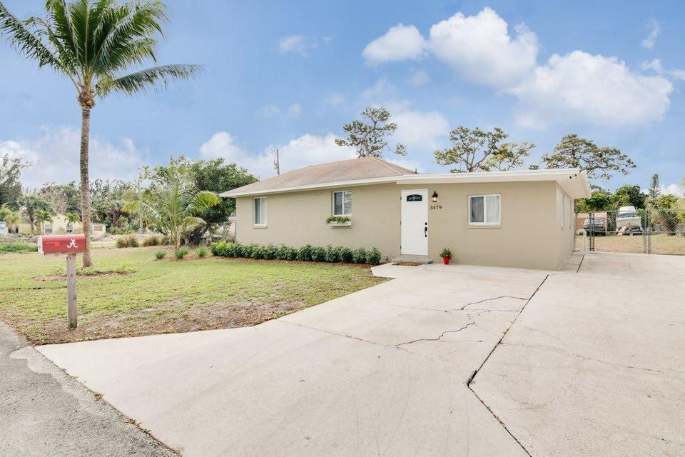 Home for sale in Palm Springs Lake Worth Florida