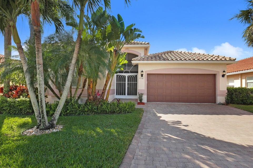 7158 Treviso Lane  Boynton Beach FL 33472