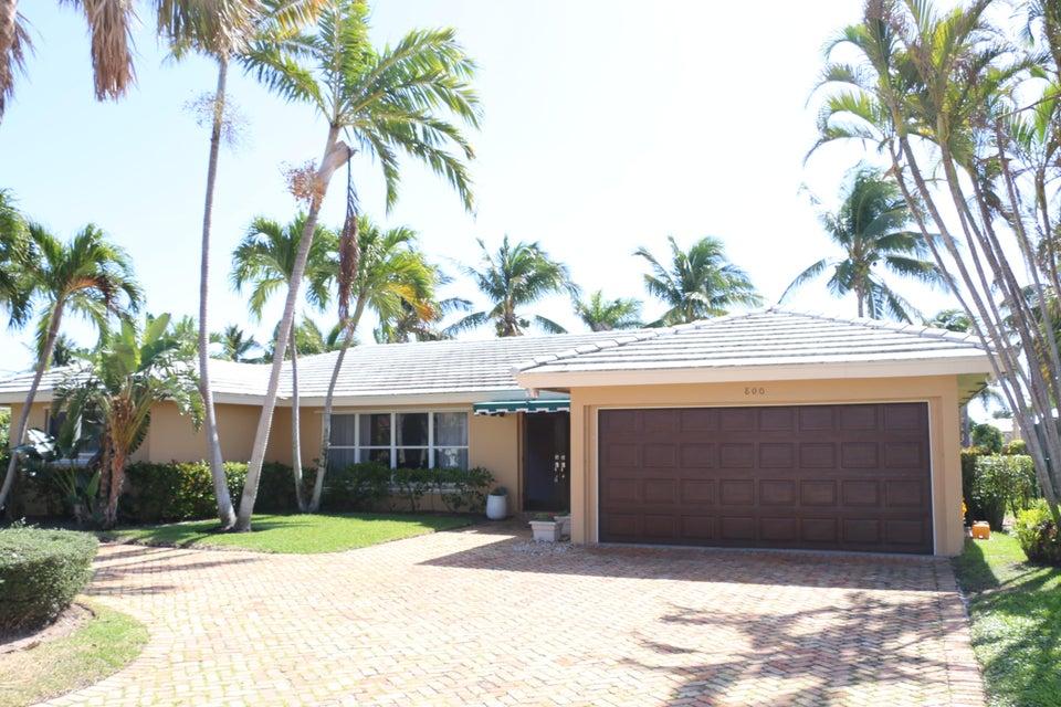 Single Family Home for Rent at 800 Berkeley Street 800 Berkeley Street Boca Raton, Florida 33487 United States