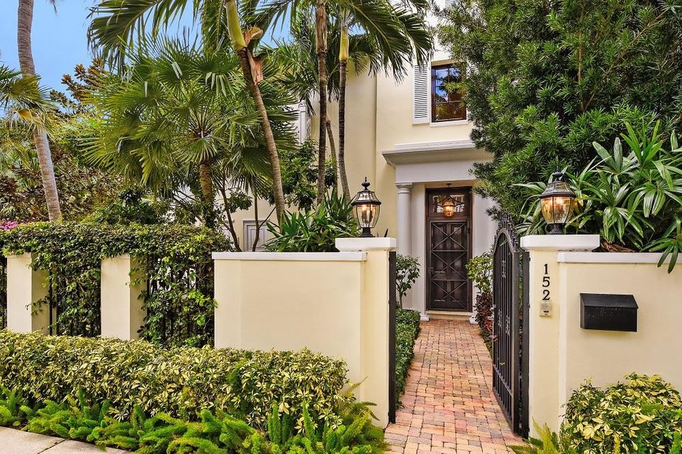 Townhouse for Rent at 152 Sunset Avenue 152 Sunset Avenue Palm Beach, Florida 33480 United States