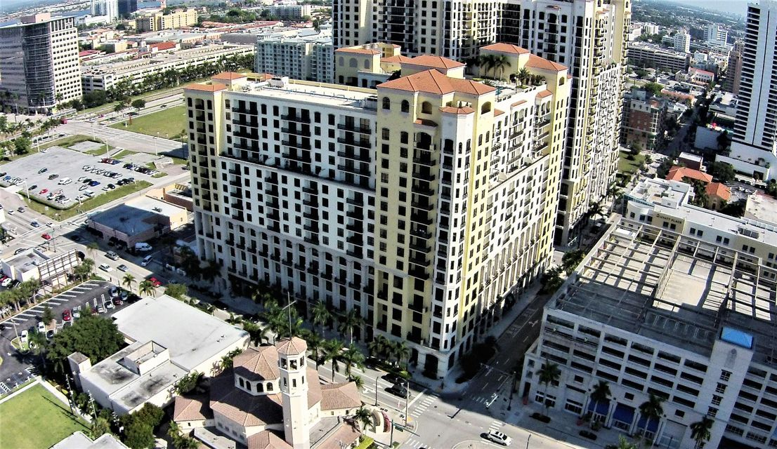 Condominium for Rent at 801 S Olive Avenue # 1124 801 S Olive Avenue # 1124 West Palm Beach, Florida 33401 United States