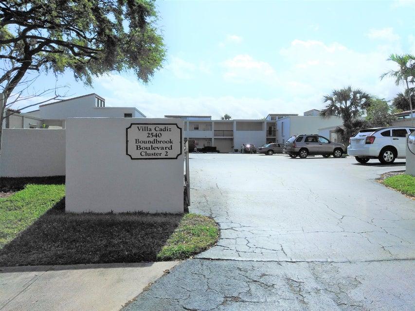 Condominium for Sale at 2540 Boundbrook Boulevard # 106 2540 Boundbrook Boulevard # 106 Palm Springs, Florida 33406 United States