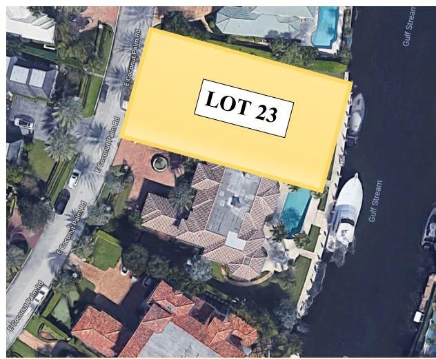 Single Family Home for Sale at 380 E Coconut Palm Road # Lot 23 380 E Coconut Palm Road # Lot 23 Boca Raton, Florida 33432 United States