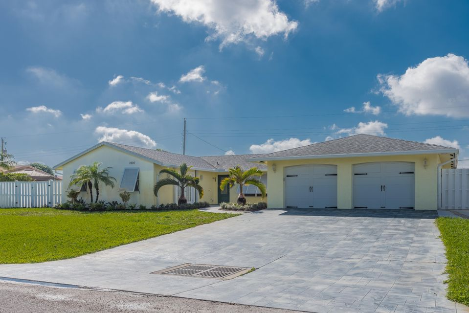 Single Family Home for Sale at 3100 Buccaneer Road 3100 Buccaneer Road Lake Worth, Florida 33462 United States