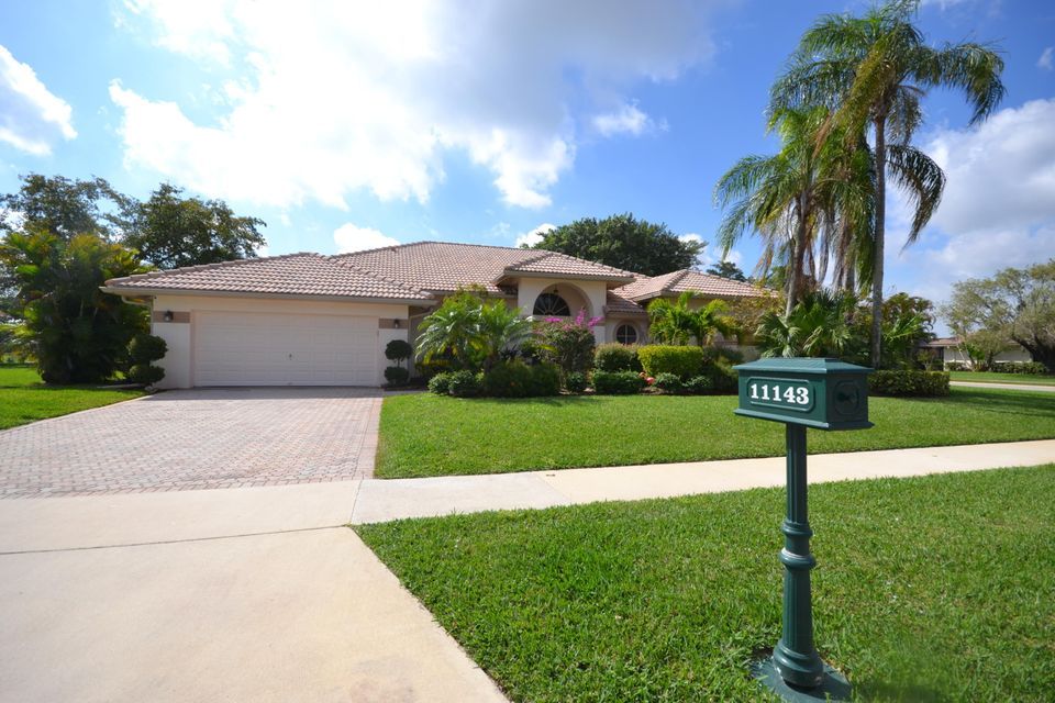 Single Family Home for Sale at 11143 Boca Woods Lane 11143 Boca Woods Lane Boca Raton, Florida 33428 United States