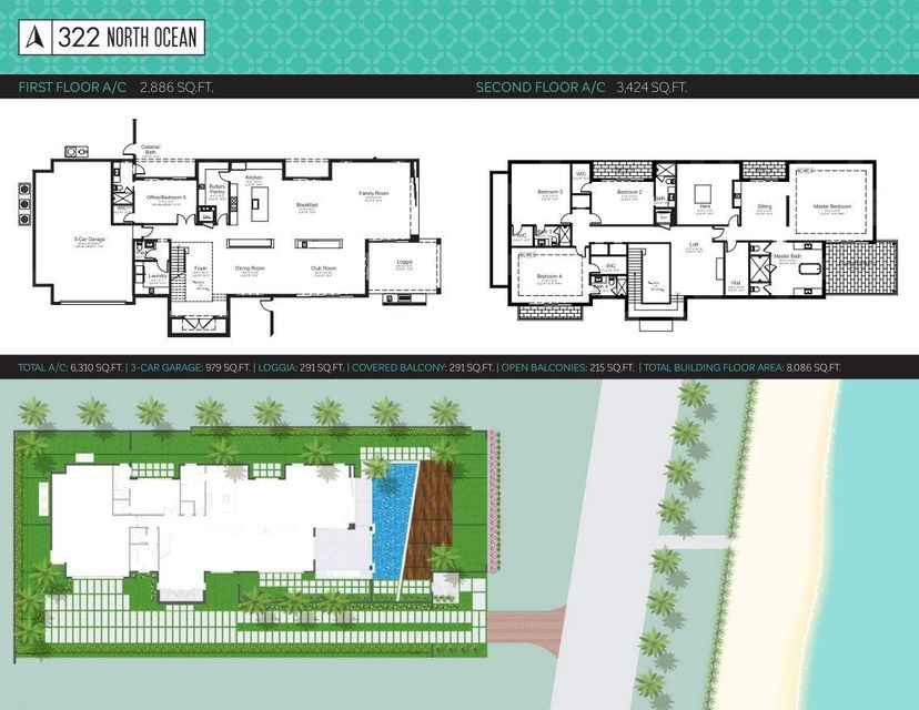 Additional photo for property listing at 322 N Ocean Boulevard 322 N Ocean Boulevard Delray Beach, Florida 33483 United States