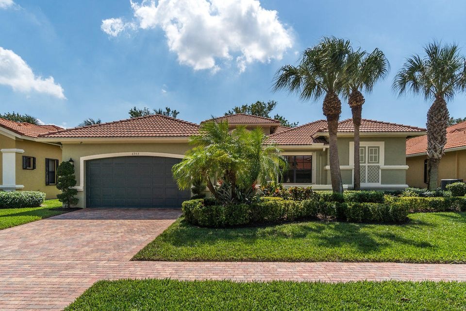 TIVOLI LAKES PUD home 6953 Antinori Lane Boynton Beach FL 33437