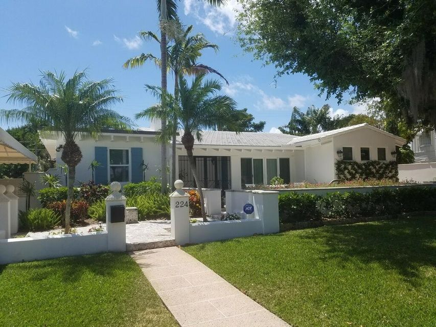 Single Family Home for Rent at 224 Churchill Road 224 Churchill Road West Palm Beach, Florida 33405 United States