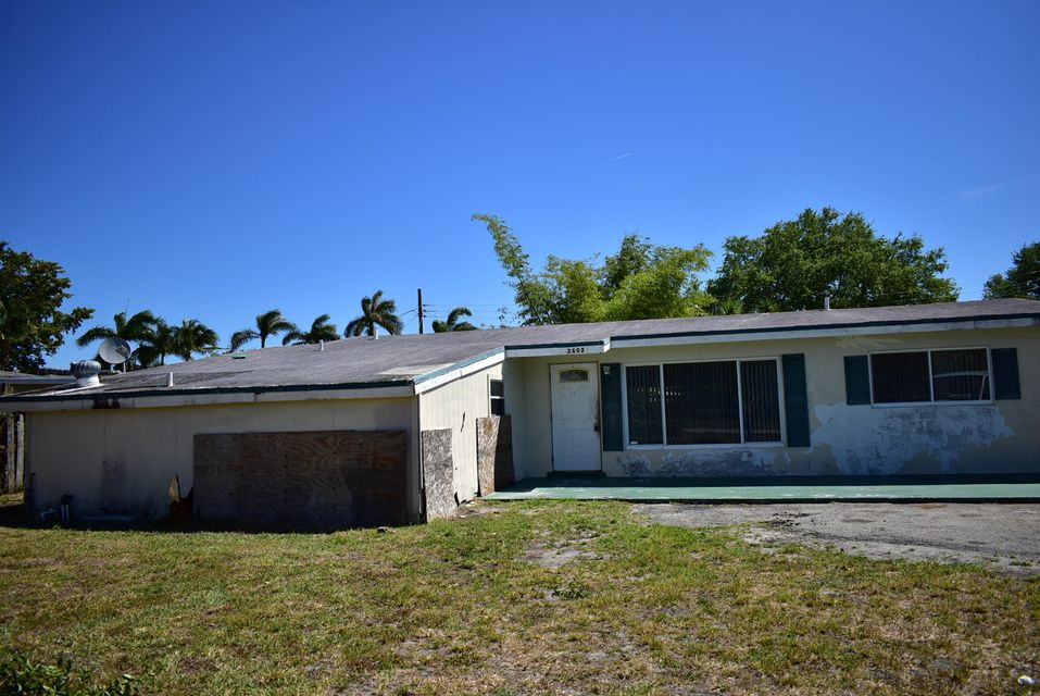 2602 Palmarita Road  West Palm Beach, FL 33406