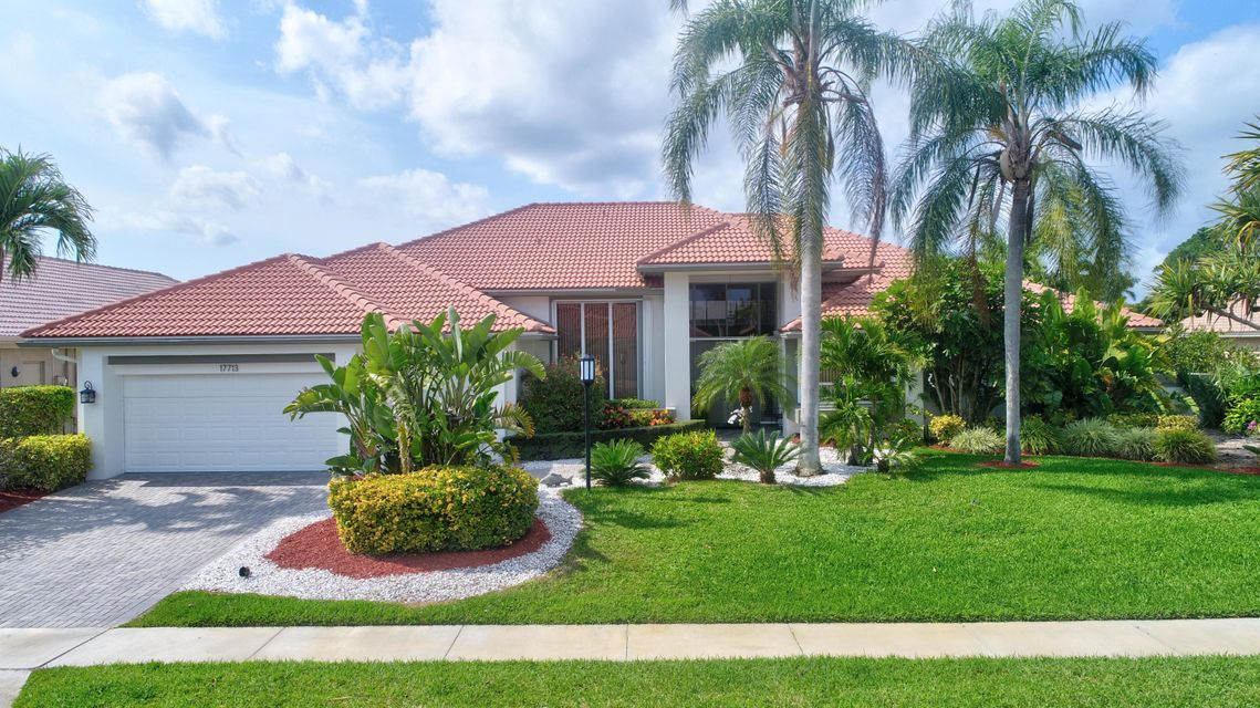 Single Family Home for Sale at 17713 Charnwood Drive 17713 Charnwood Drive Boca Raton, Florida 33498 United States