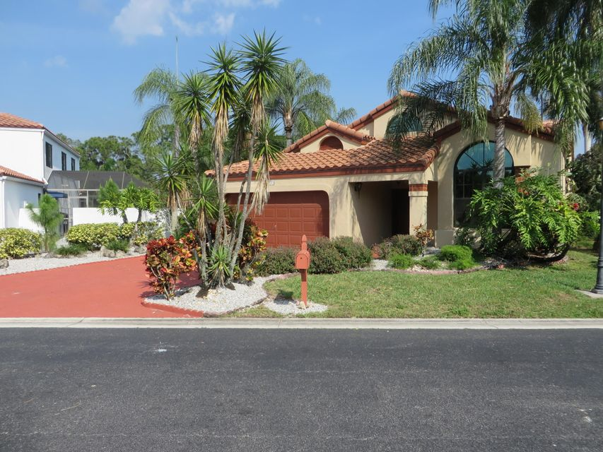 Single Family Home for Rent at 153 Island Way 153 Island Way Greenacres, Florida 33413 United States