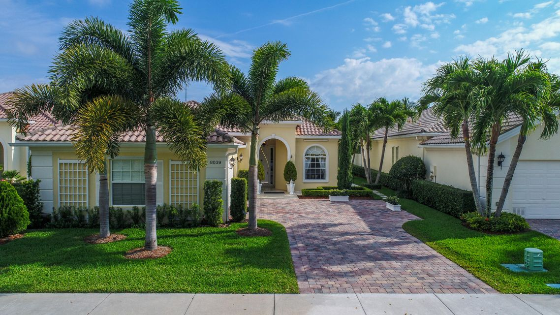Single Family Home for Sale at 8039 Nevis Place 8039 Nevis Place Wellington, Florida 33414 United States