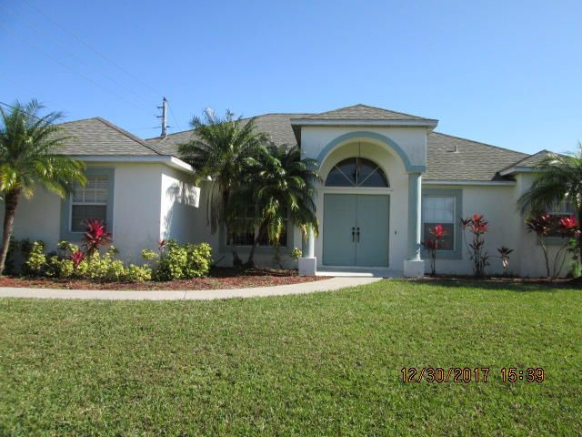 Single Family Home for Sale at 3249 SW Hambrick Street 3249 SW Hambrick Street Port St. Lucie, Florida 34953 United States