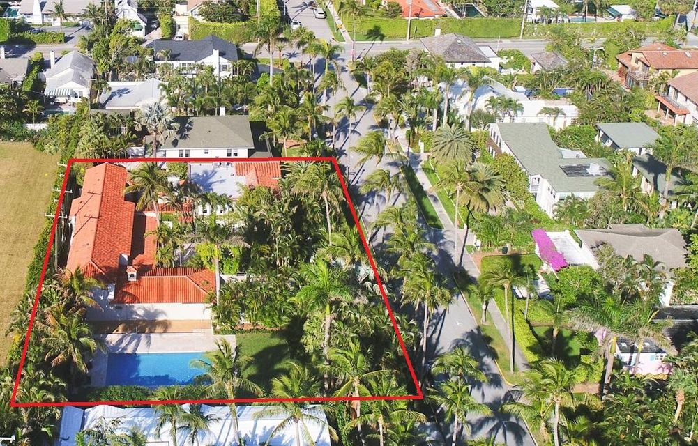 Single Family Home for Sale at 346 Seaspray Avenue 346 Seaspray Avenue Palm Beach, Florida 33480 United States