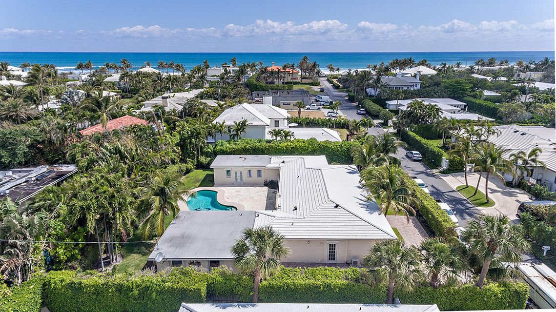 Single Family Home for Sale at 227 Ocean Terrace 227 Ocean Terrace Palm Beach, Florida 33480 United States