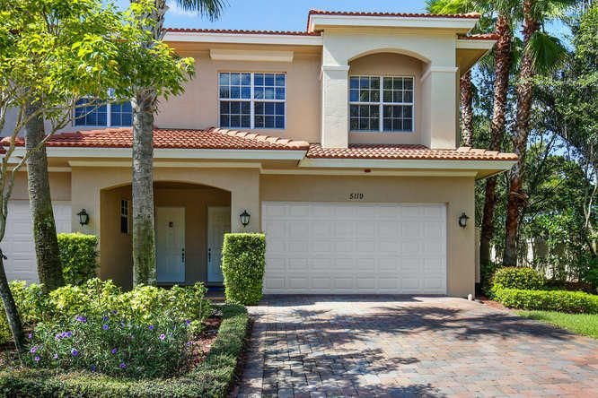 Townhouse for Rent at 5119 Artesa Way 5119 Artesa Way Palm Beach Gardens, Florida 33418 United States
