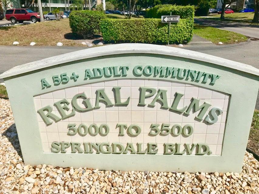 Condominium for Sale at 3300 Springdale Boulevard # 205 3300 Springdale Boulevard # 205 Palm Springs, Florida 33461 United States