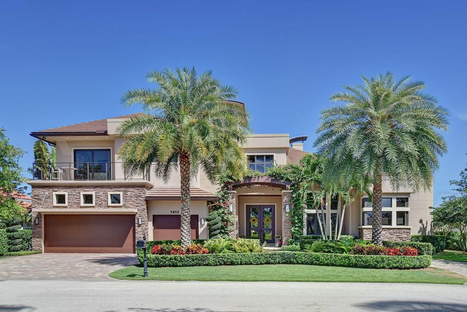 Single Family Home for Rent at 1412 Thatch Palm Drive 1412 Thatch Palm Drive Boca Raton, Florida 33432 United States