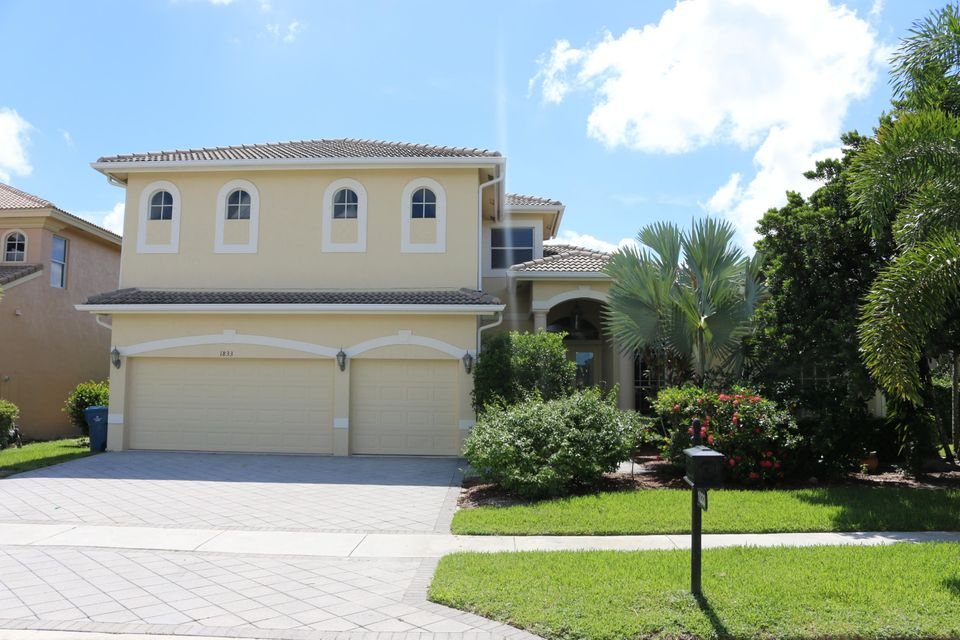 Single Family Home for Rent at 1833 Waldorf Drive 1833 Waldorf Drive Royal Palm Beach, Florida 33411 United States