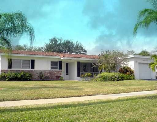 Single Family Home for Rent at 7161 NE 7th Avenue 7161 NE 7th Avenue Boca Raton, Florida 33487 United States