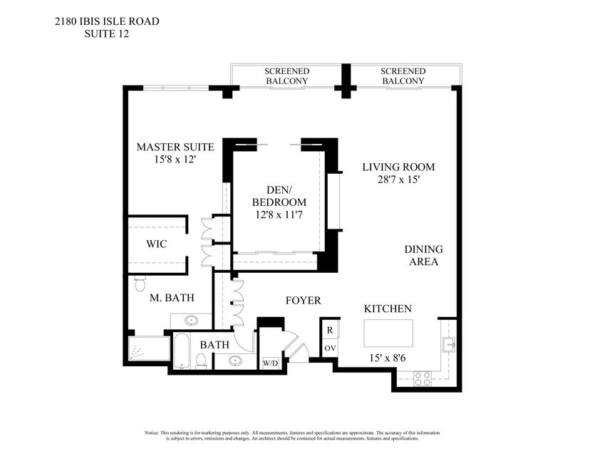 2180  Ibis Isle Road 12, Palm Beach FL 33480 is listed for sale as MLS Listing RX-10414830 photo #19