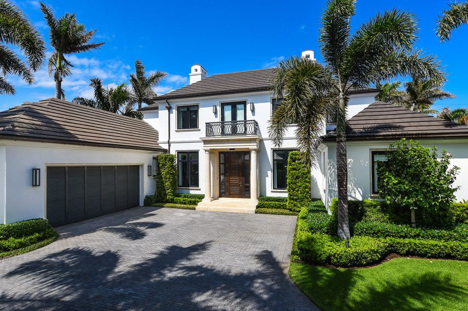 Single Family Home for Sale at 229 Ridgeview Drive 229 Ridgeview Drive Palm Beach, Florida 33480 United States