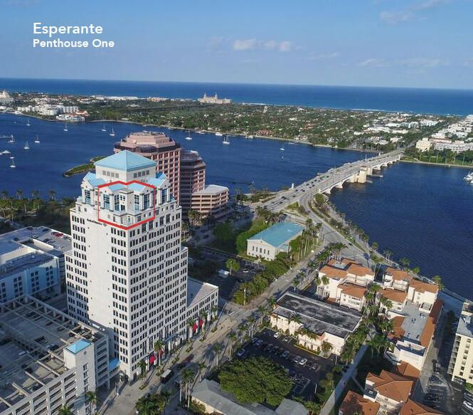 Condominium for Sale at 222 Lakeview Avenue # Ph 1 222 Lakeview Avenue # Ph 1 West Palm Beach, Florida 33401 United States