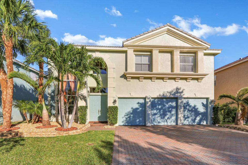 Single Family Home for Sale at 3015 Hamblin Way 3015 Hamblin Way Wellington, Florida 33414 United States
