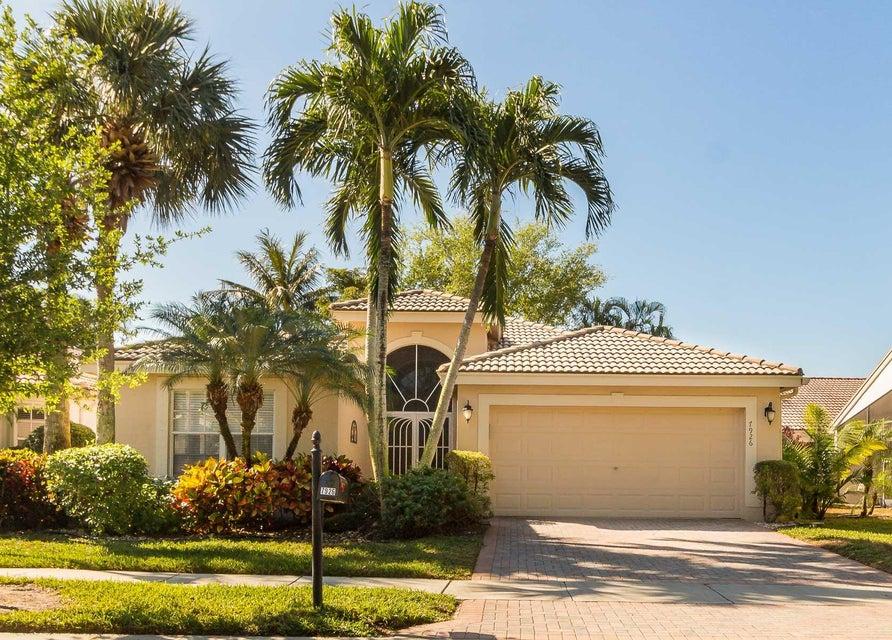 VALENCIA LAKES home 7926 Sonora Street Boynton Beach FL 33437