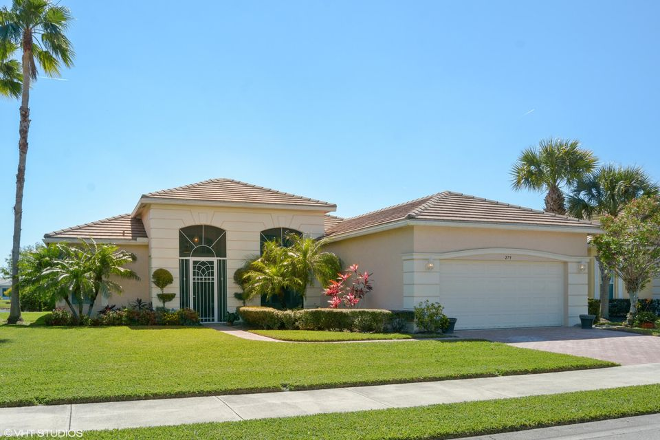 Single Family Home for Sale at 279 SW Lake Forest Way 279 SW Lake Forest Way Port St. Lucie, Florida 34986 United States