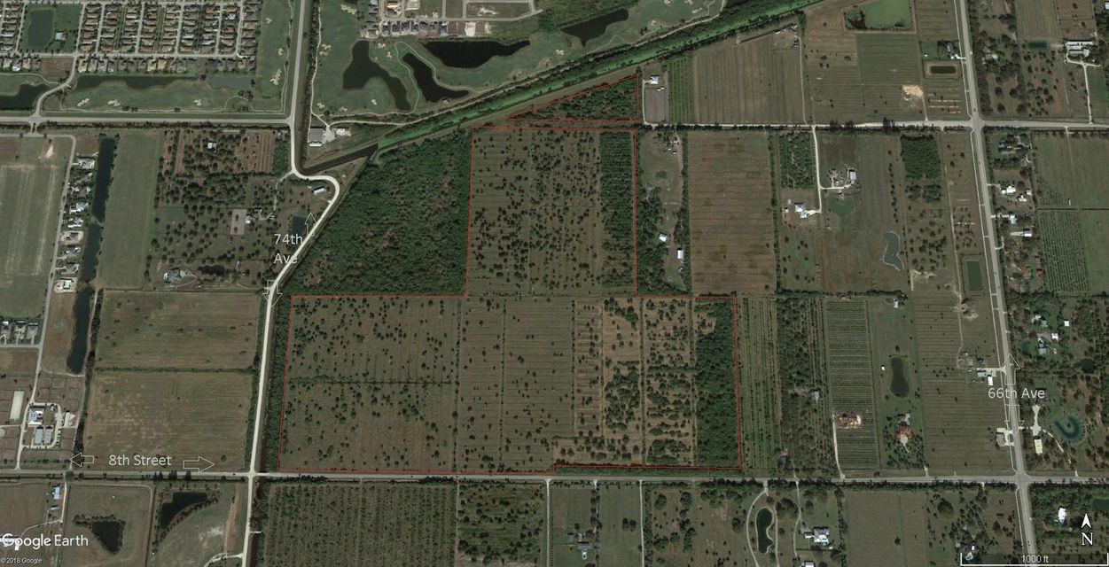 Land for Sale at 6986 8th Street 6986 8th Street Vero Beach, Florida 32966 United States