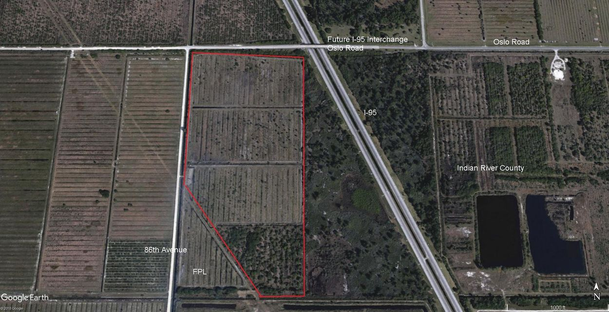 Land for Sale at 1100 86th Avenue 1100 86th Avenue Vero Beach, Florida 32968 United States
