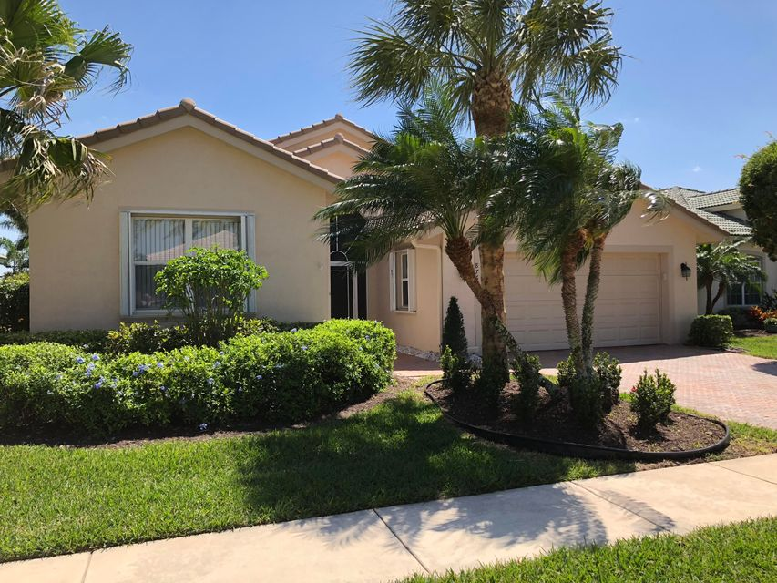 VENETIAN ISLES home 8764 Via Tuscany Drive Boynton Beach FL 33472