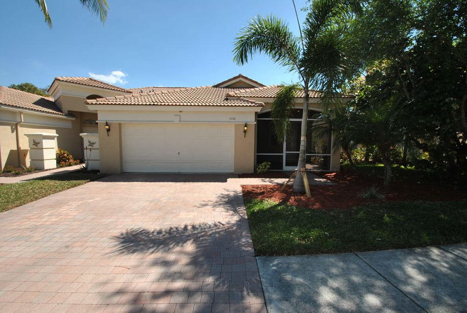 Villa for Rent at 2448 Sandy Cay 2448 Sandy Cay West Palm Beach, Florida 33411 United States