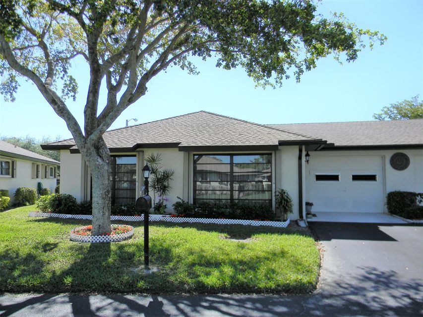 Villa for Sale at 4836 Dovewood Circle # A 4836 Dovewood Circle # A Boynton Beach, Florida 33436 United States
