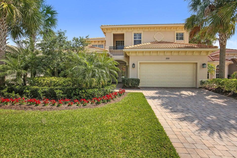 Single Family Home for Sale at 220 Carina Drive 220 Carina Drive Jupiter, Florida 33478 United States