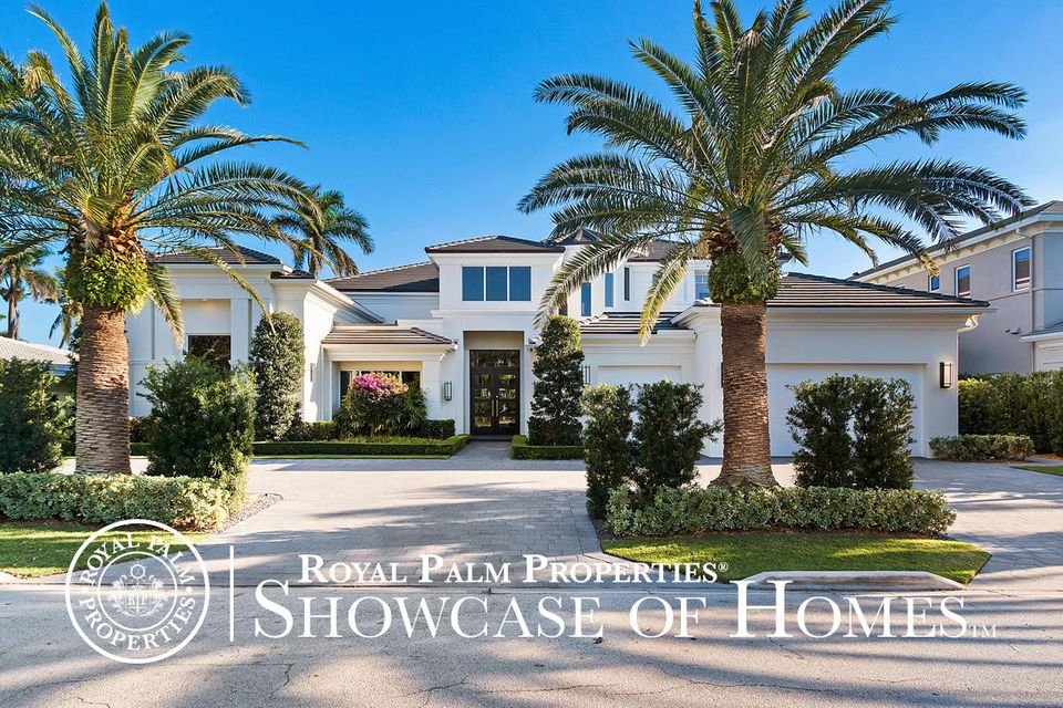 Single Family Home for Sale at 434 S Maya Palm Drive 434 S Maya Palm Drive Boca Raton, Florida 33432 United States