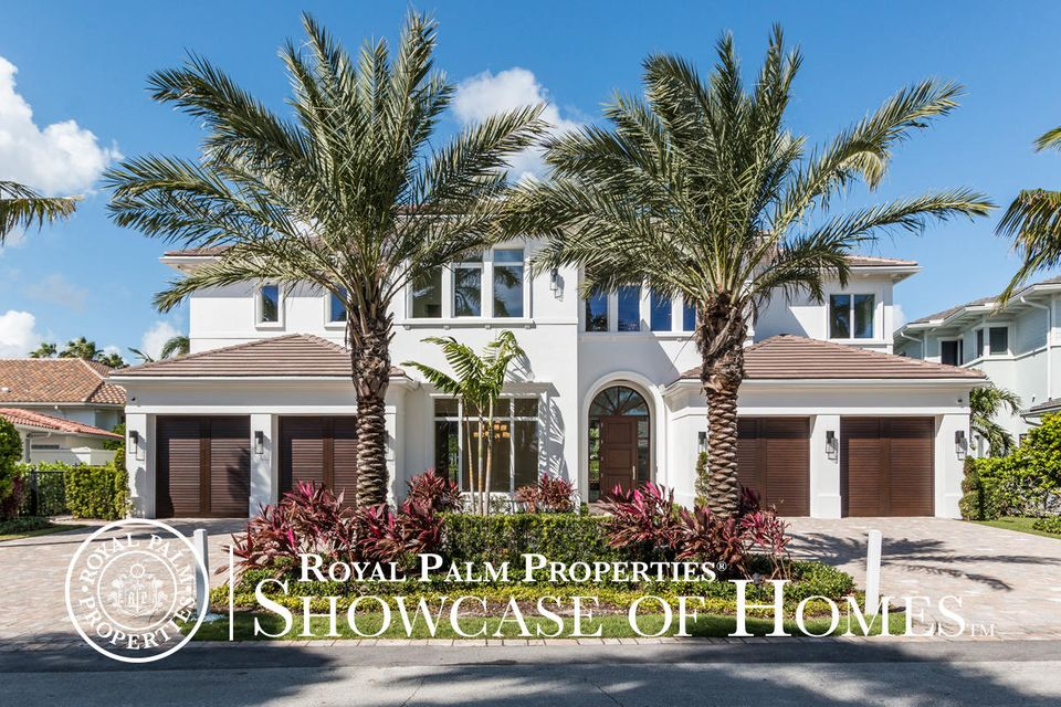Single Family Home for Sale at 1229 Thatch Palm Drive 1229 Thatch Palm Drive Boca Raton, Florida 33432 United States