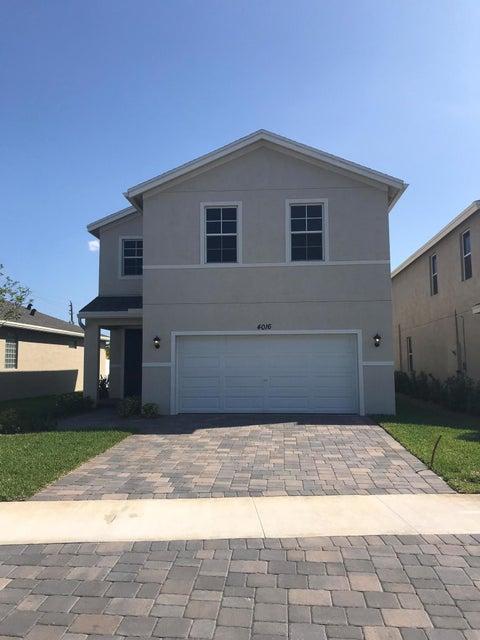 4016 Tomoka Drive  Lake Worth FL 33462