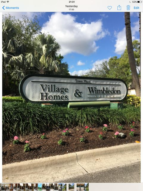 Photo of 5873 Fox Hollow A Boca Raton FL 33486 MLS RX-10423824