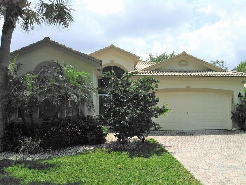 VALENCIA LAKES home 7840 San Isidro Street Boynton Beach FL 33437