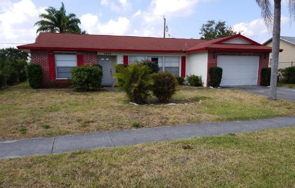 1404 N Mangonia Drive  West Palm Beach, FL 33401