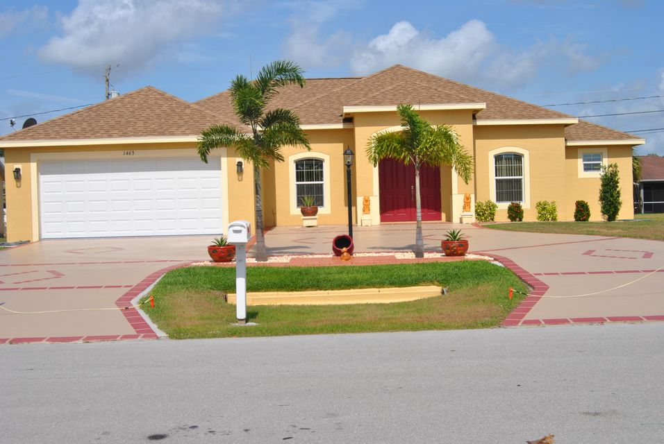 Single Family Home for Sale at 1463 SW Prairie Circle 1463 SW Prairie Circle Port St. Lucie, Florida 34953 United States