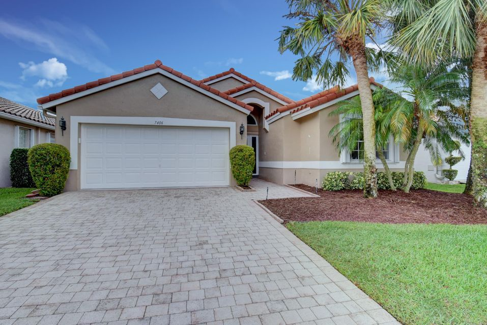 CASCADES home 7406 Haviland Circle Boynton Beach FL 33437