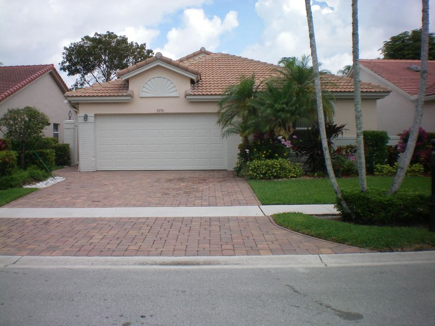PALM ISLES home 9770 Harbour Lake Circle Boynton Beach FL 33437