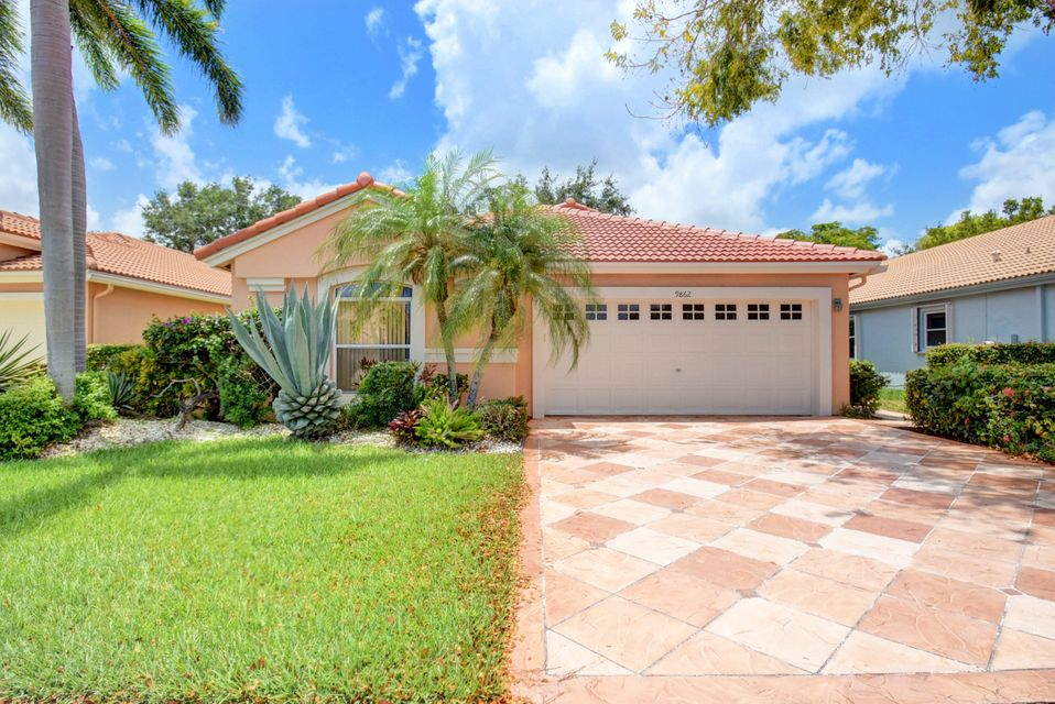 PALM ISLES home 9862 Harbour Lake Circle Boynton Beach FL 33437