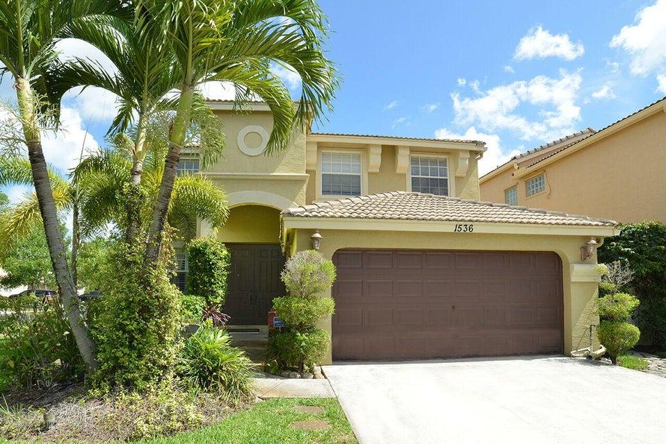 1536 Running Oak Lane  Royal Palm Beach, FL 33411