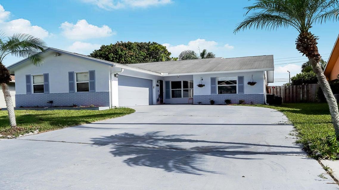 Home for sale in Lexington Estates Serene Run Lake Worth Florida