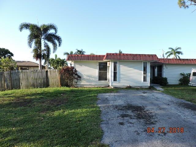115 W Mango Road  Lake Worth, FL 33467